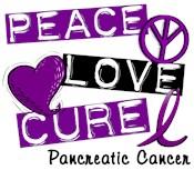 PEACE LOVE CURE Pancreatic Cancer