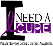 I Need A Cure CROHNS DISEASE T-Shirts & Gifts