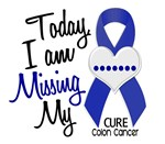 Missing My 1 Colon Cancer T-Shirts, Tees, & Gifts