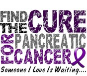 Find The Cure 1 PANCREATIC CANCER T-Shirts & Gifts