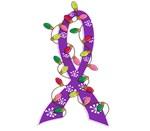 Christmas Lights Ribbon Fibromyalgia Gifts