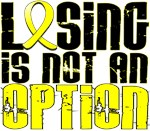 Losing Is Not An Option Bladder Cancer Shirts
