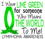 Means World To Me 1 Lymphoma Shirts