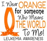 Means World To Me 1 Leukemia Shirts