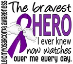 Bravest Hero I Knew Leiomyosarcoma Gifts