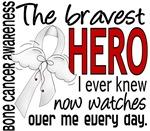Bravest Hero I Knew Bone Cancer Gifts