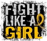 Licensed Fight Like a Girl 31.8 Childhood Cancer S