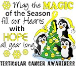 Testicular Cancer Christmas Cards and Gifts