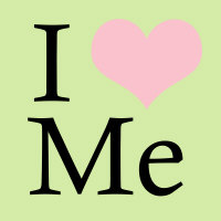 I Heart Me (Pink and Green)