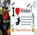 Halloween Witch Love