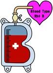 Blood type B