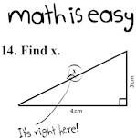 Math Is Easy Joke