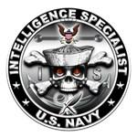USN Intelligence Specialist Skull IS
