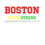 Boston FAITH STRONG