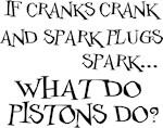 If Cranks Crank...