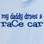 My Daddy Drives A Race Car