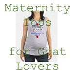 Maternity Tops for Goat Lovers