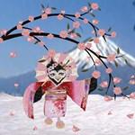 Sakura Geisha Bird