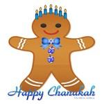 Chanukah Gingerbread Man