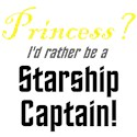Princess? I'd Rather be a Starship Captain!