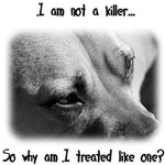 """Two-Sided """"I'm Not a Killer"""" / Pit Bull Facts"""