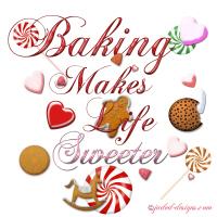 Baking makes life sweeter shirts and more