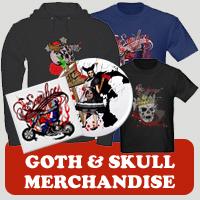 Skull & Goth : Tees, Gifts & Apparel