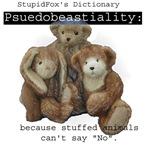 Pseudobeastiality