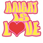 Haight is Love T-Shirt