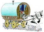 Gypsy Horse Art
