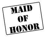 Maid of Honor Stamp T-Shirts