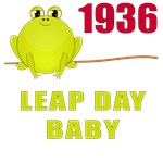 1936 Leap Year Baby T-Shirts
