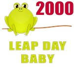 2000 Leap Year Baby T-Shirts