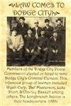Dodge City Peace Commission