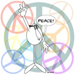 PEACE WHY ME GUY