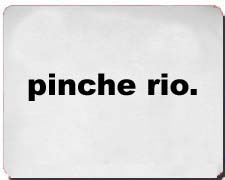 """""""Pinche Rio."""" Poker Shirts"""
