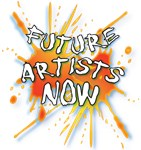 FUTURE ARTISTS NOW Logo T Shirts and Gifts.