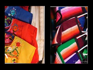 Mexican Blouses and Zarapes