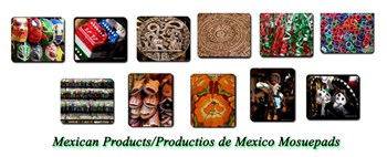 Mexican Mousepads and Products