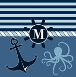 Nautical Anchor Monogram