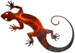 Fire Red Gecko