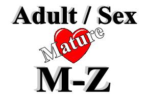 Adult / Sex - M-Z