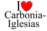 I Love (Heart) Carbonia-Iglesias, Italy