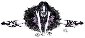 Evil Gothic Ballerina