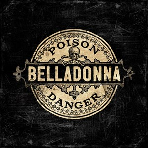 Vintage Style Belladonna Poison Label