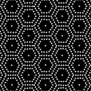 Skull Hexagon Pattern