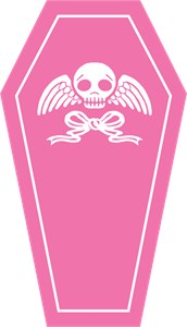 Cute Pink Coffin