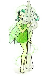 Absinthe Fairy With Spoon