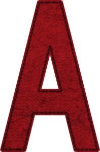 Scarlet Letter A