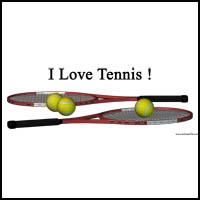 I love Tennis !